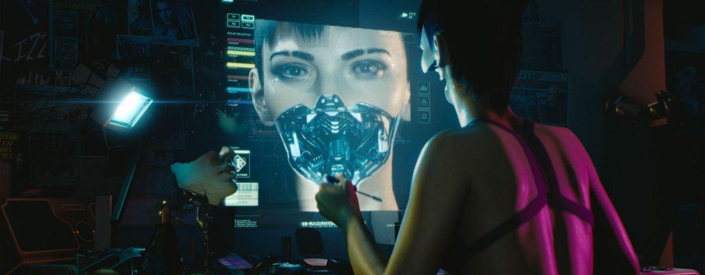 Ihr könnt in Cyberpunk 2077 Charaktere erstellen, Frau oder Mann spielen