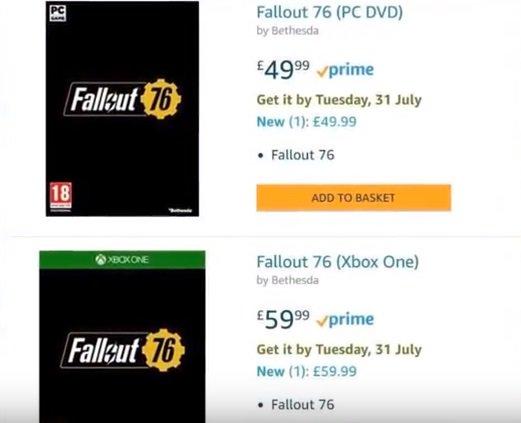 Fallout 76 hat schon im Juli Release, wenn man diesem Leak glaubt