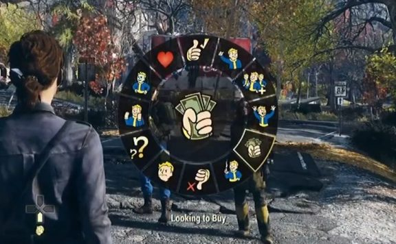 Fallout 76 Emote Wheel Titel