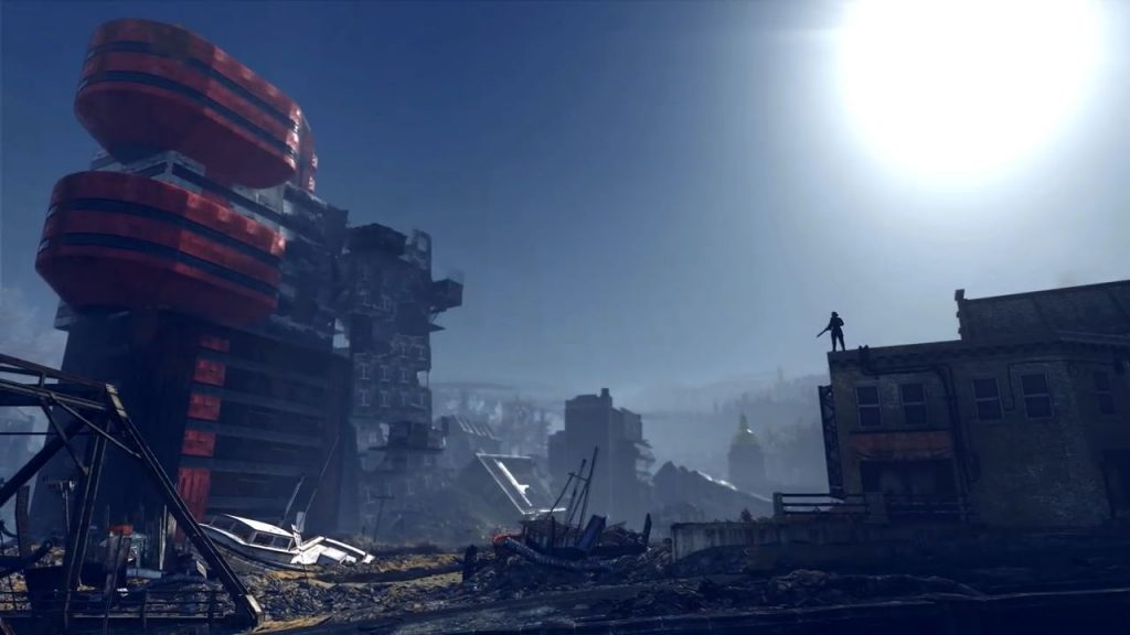 Fallout 76 Gameplay Trailer Screenshot Hochhaus