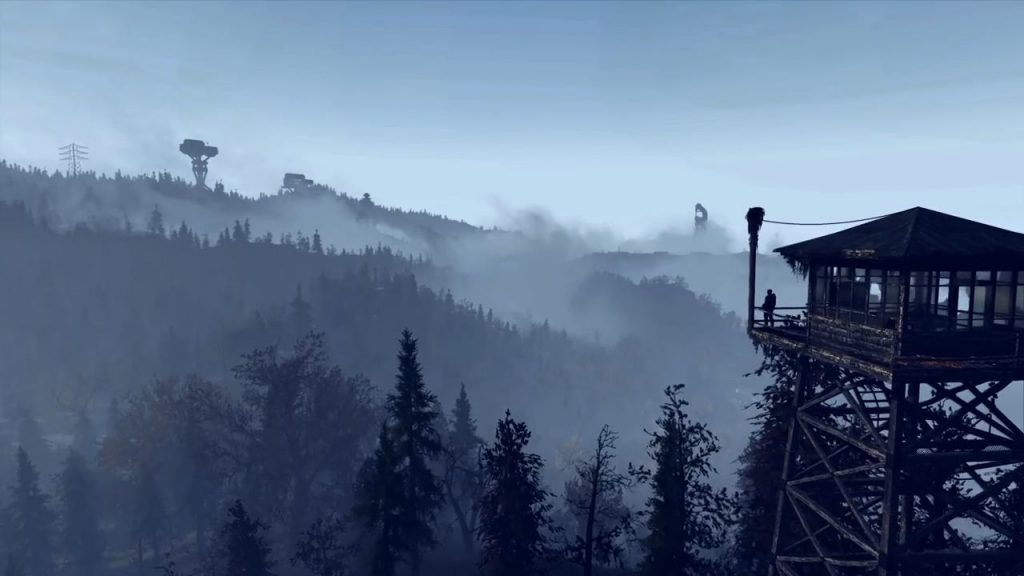 Fallout 76 Landschaft 3 mit Turm