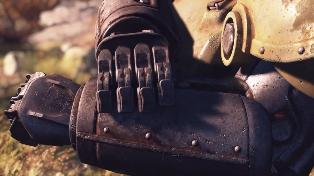 Fallout 76 Powerarmor Arm