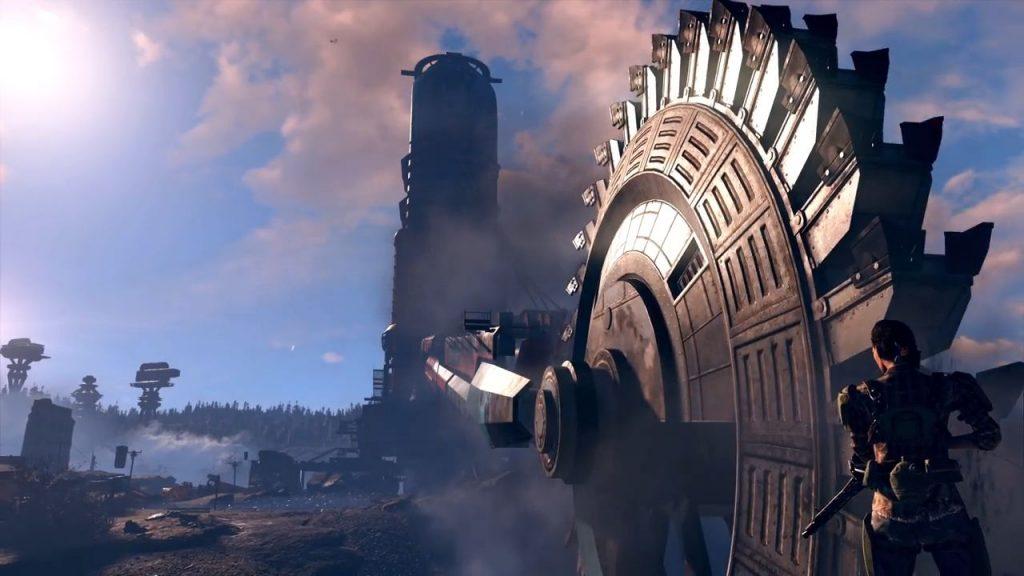 Fallout 76 Riesenbagger