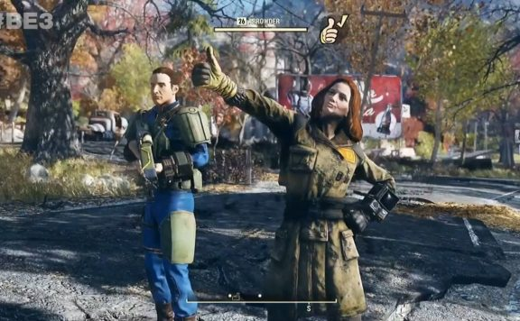 Fallout 76 Thumbs Up Gameplay