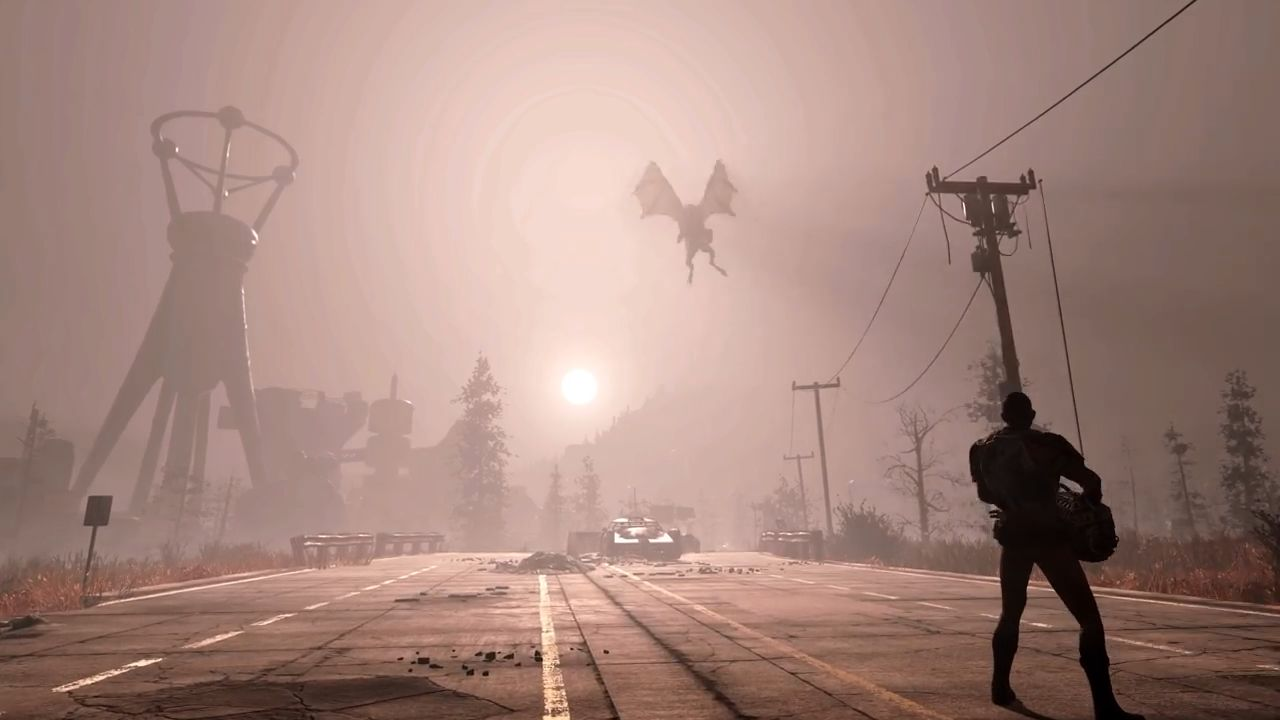 Fallout 76 Wanderer vs Vieh