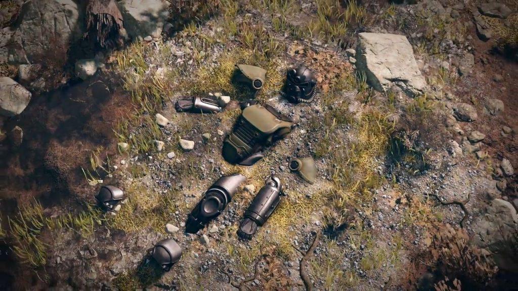 Fallout 76 zerstörte Powerarmor