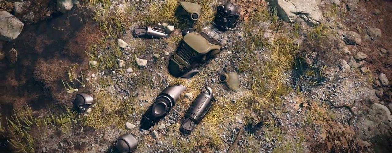 Fallout 76 zerstörte Powerarmor Titel