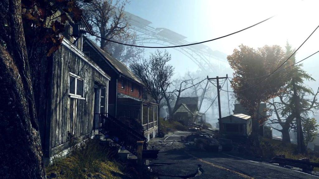 Fallout 76 zerstörte Stadt