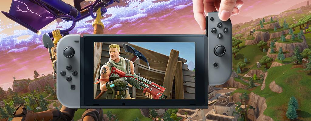 Oha! Fortnite: Battle Royale kommt heute schon zur Nintendo Switch