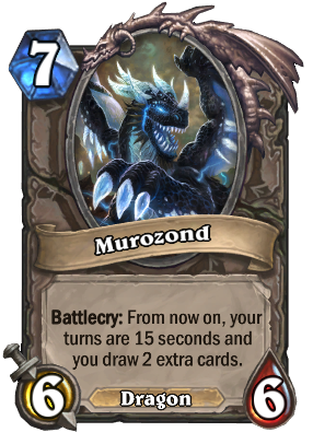 Hearthstone Murozond