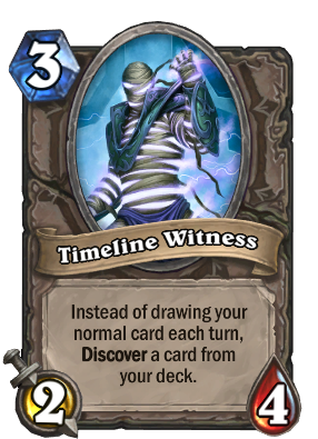 Hearthstone Timeless Witness