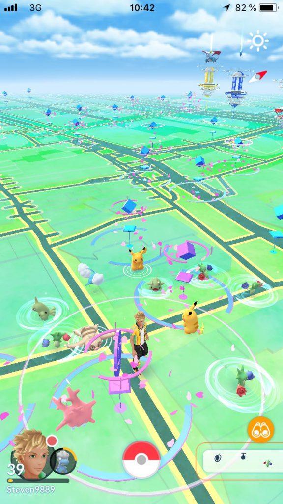 Pokémon GO Dortmund Stadt Monster