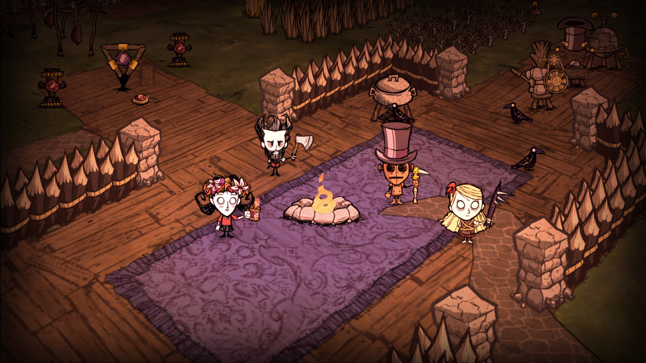 Horror Games Dont Starve Together 2