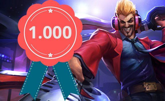 LoL Spieler 1000 Titel