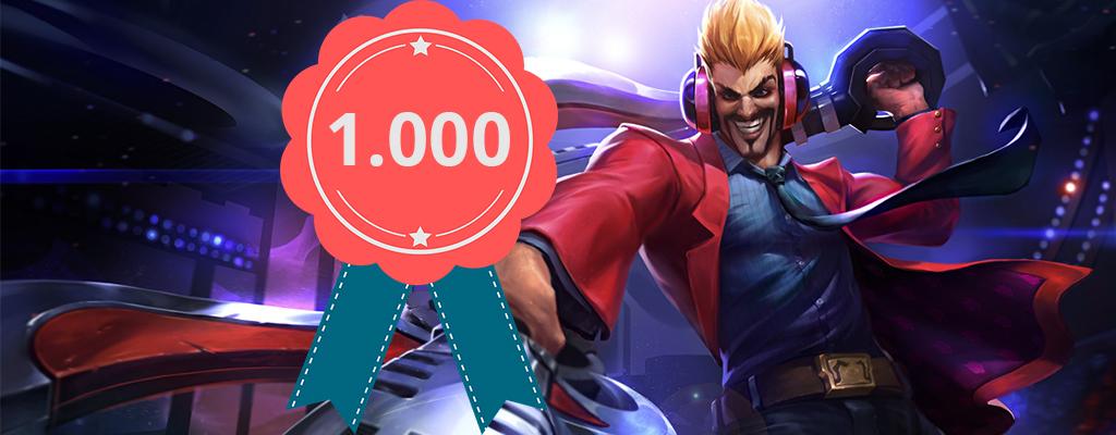 League of Legends: Spieler knackt als erster Level 1000 in LoL!
