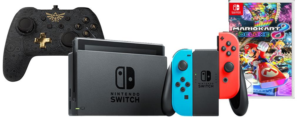 Nintendo Switch im Bundle zum Bestpreis – Konsolen- und TV-Angebote bei Saturn