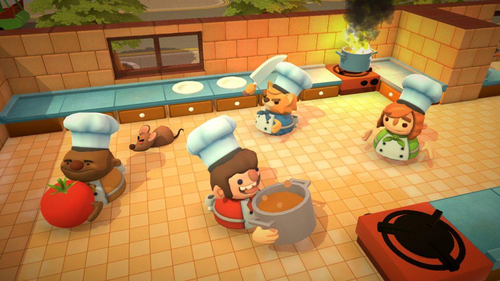 Overcooked Küche