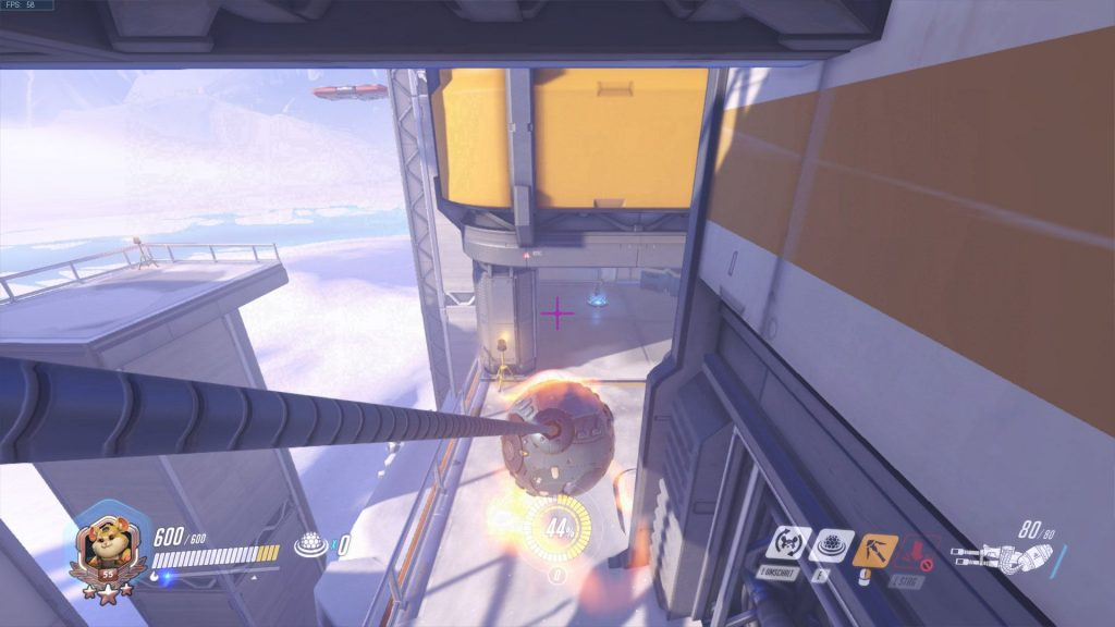 Overwatch Hammond Screenshot Skills Abrissbirne