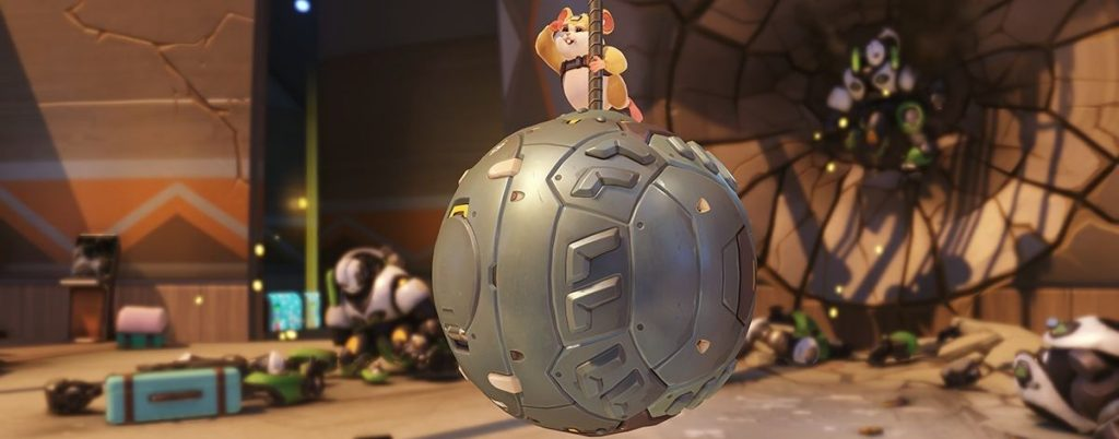 Overwatch Hammond Wrecking Ball Screenshot Titel