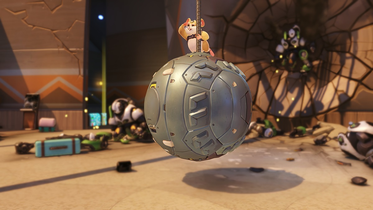 Overwatch Hammond Wrecking Ball Screenshot