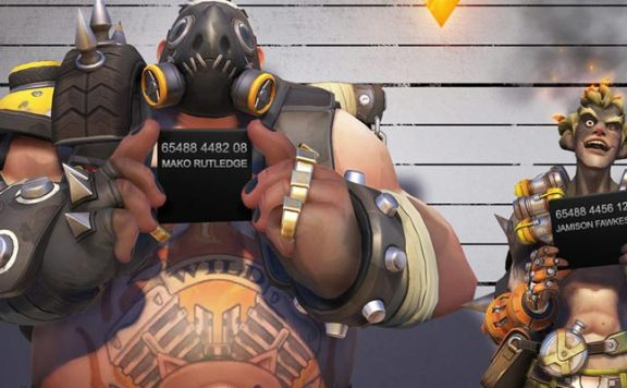 Overwatch Junkrat Roadhog Criminal title