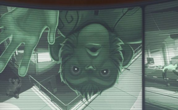 Overwatch Mondkolonie Horizon Winston Kamera Titel