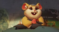 Overwatch New Hero Hamster wtf blizz is this y is you doing this to me