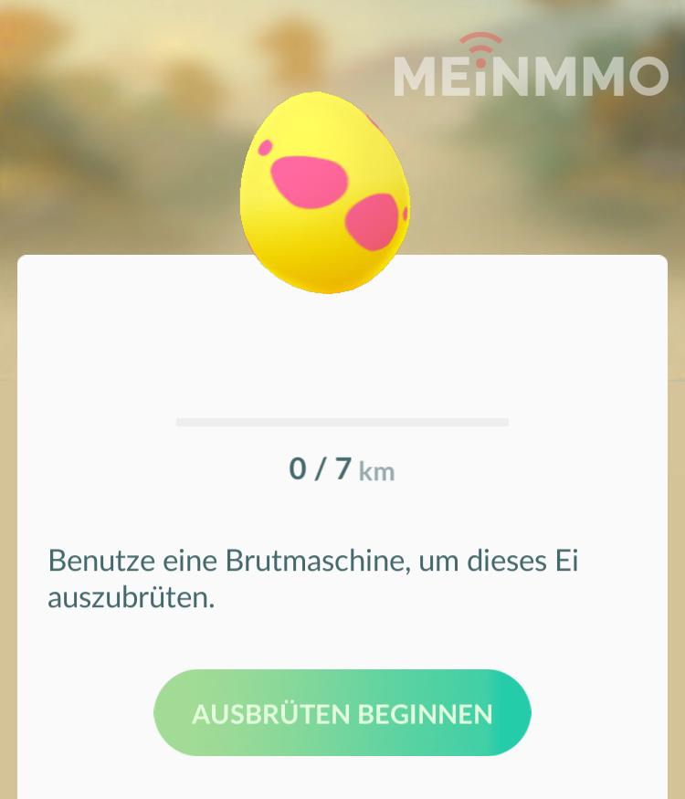Pokémon GO 7KM Ei