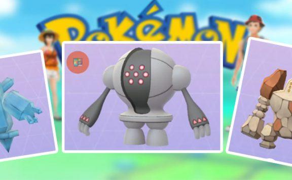 Pokémon GO Regi Trio neu