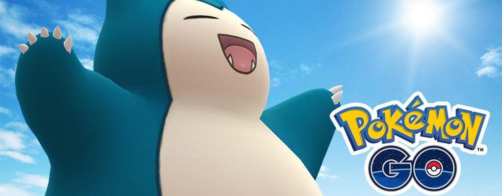 Pokémon GO Relaxo Titel
