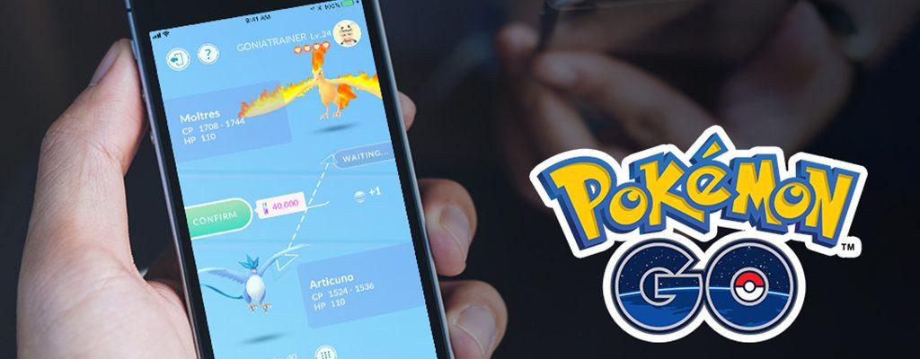 Pokémon GO Tauschen Titel 2