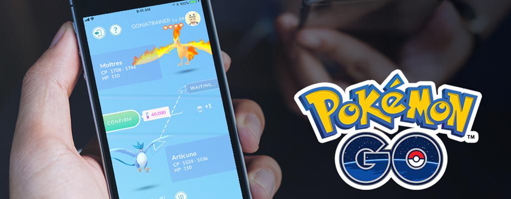 So verhindert Pokémon GO, dass die Tausch-Funktion das Spiel zerstört