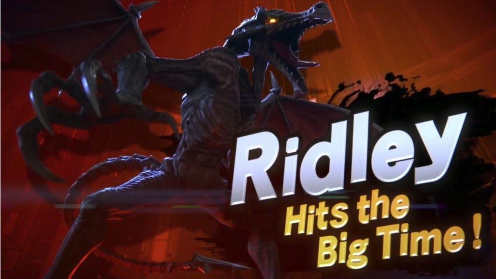 Smash Bros Ridley