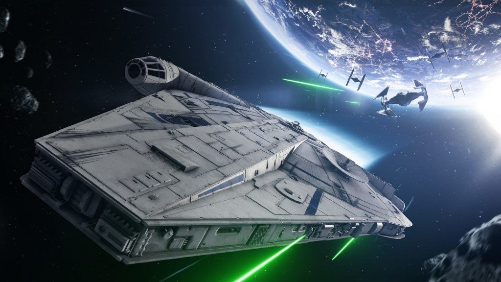 Star Wars Battlefront 2 Han Solo 1