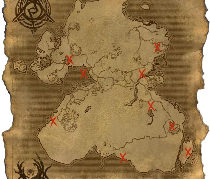 Summerset Psijik Orden Map
