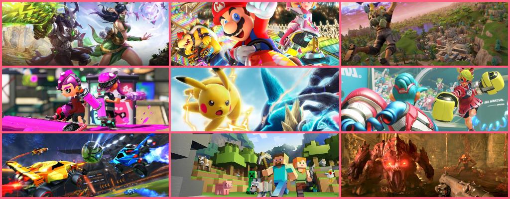 Die 10 besten Online-Multiplayer-Games für die Nintendo Switch in 2018