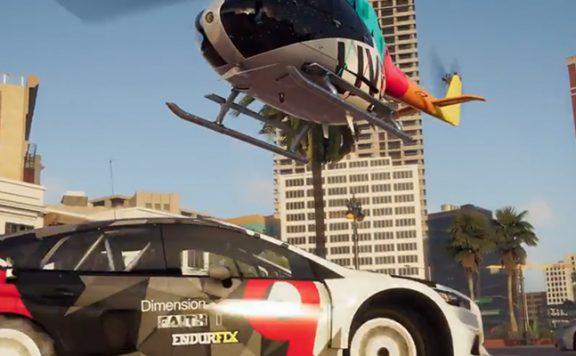 The Crew 2 Titel Hubschrauber auto