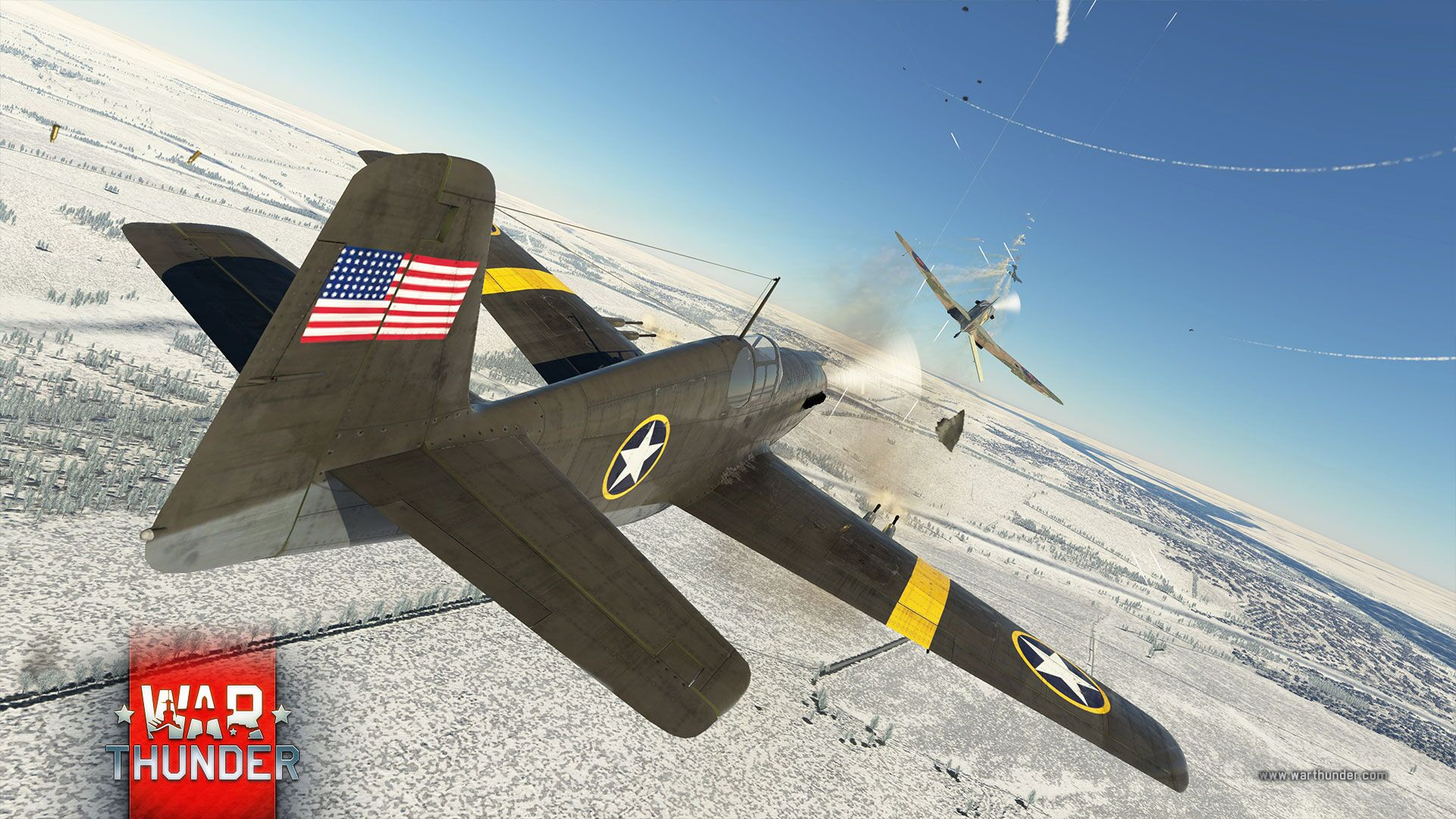 WarThunder_aircraft_battle