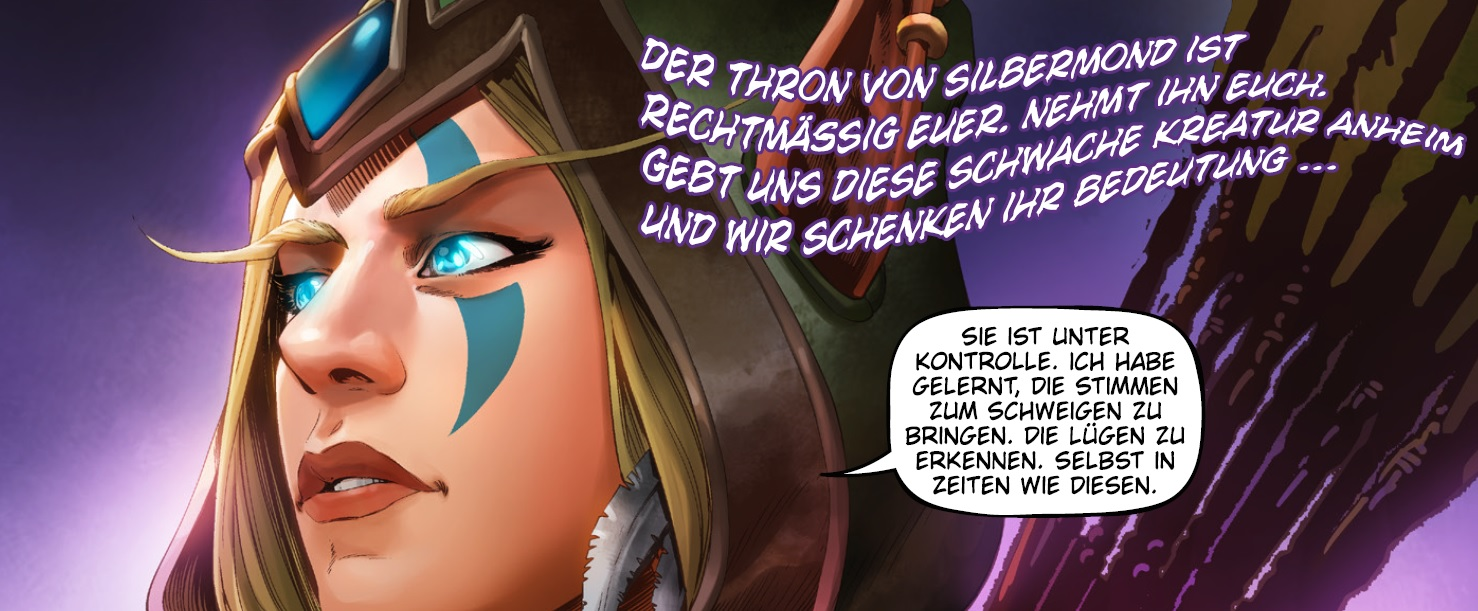 WoW Alleria Void Comic Strip
