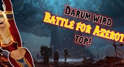 WoW Battle for Azeroth top title