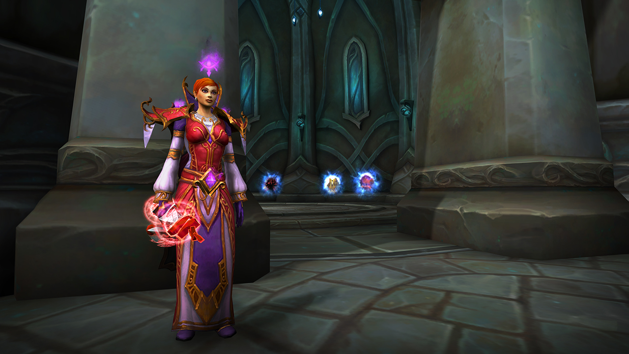 WoW Mage Tower Screenshot