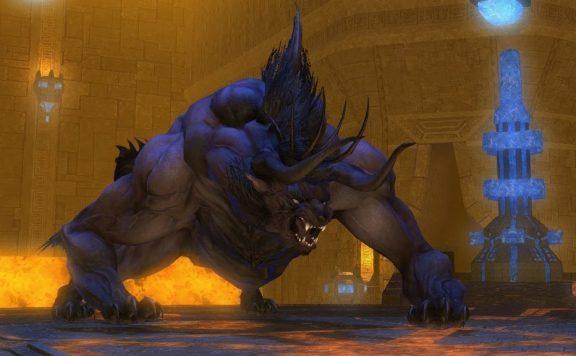 final fantasy xiv kristallturm behemoth