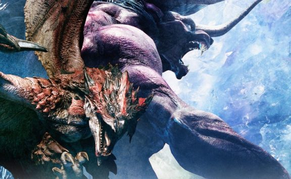 final fantasy xiv monster hunter world rathalos behemoth