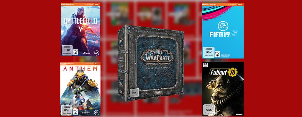 MediaMarkt Prospekt – Vorbestellung von FIFA 19, Battlefield 5, Anthem & mehr