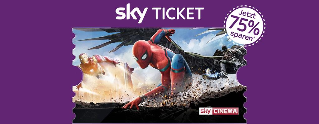 2 Monate Sky Cinema Ticket für einmalig 7,99 Euro – Jetzt Sky-Angebot sichern