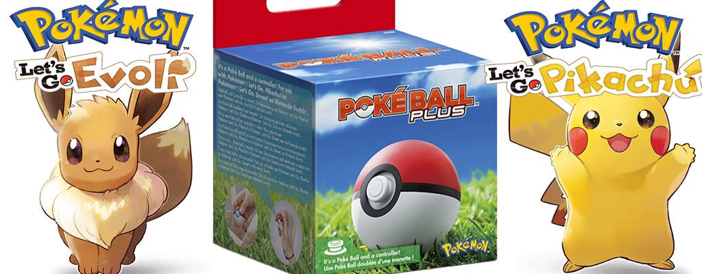 Pokéball Plus und Pokémon Let's Go jetzt bei Amazon vorbestellen