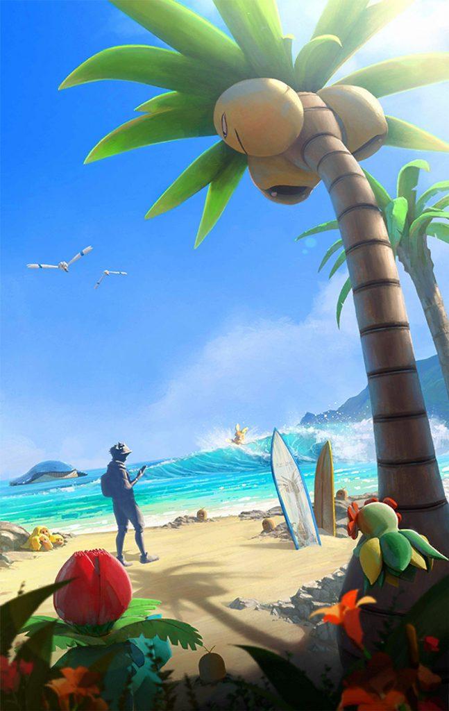 Pokémon GO Ladebildschirm