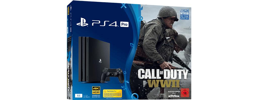 PS4 Pro-Bundle mit CoD: WW2 im Top-Elf-Angebot bei MediaMarkt