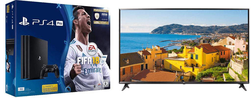 Top-Elf-Angebote – PS4 Pro-Bundle mit FIFA 18 und 14 Tage PS Plus