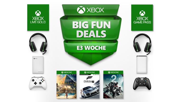 Xbox E3 Rabatt